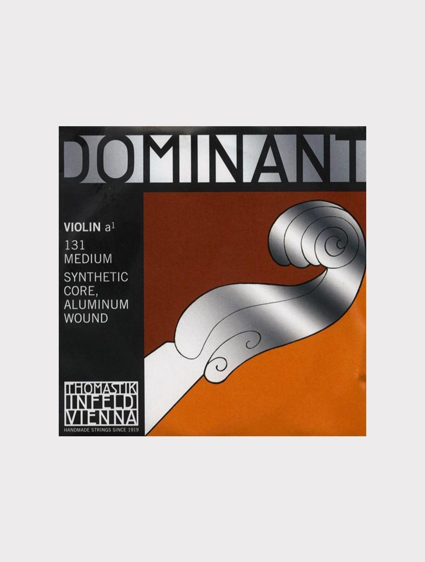 Отдельная струна А/Ля Thomastik 131 Dominant для скрипки размером 4/4, среднее натяжение