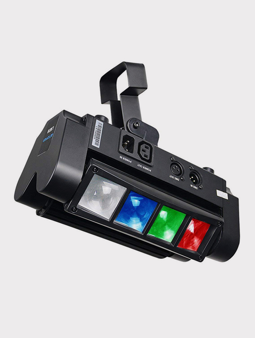 Моторизированный мини-прожектор смены цвета(колорчэнджер) Big Dipper LM30A, 8x3Вт