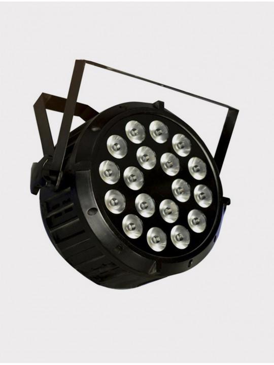 Светодиодный прожектор смены цвета(колорчэнджер) Big Dipper LPC006, RGBWAUV, 18х10Вт