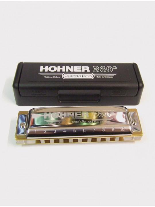 Губная гармошка Hohner 360° C
