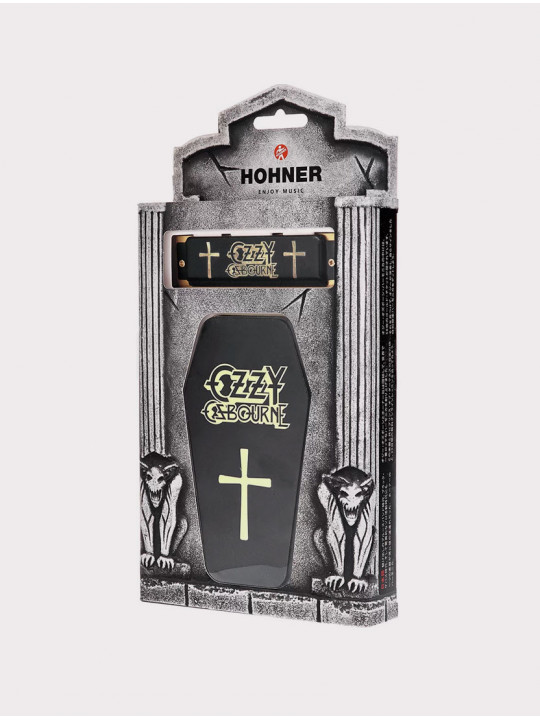 Губная гармошка Hohner Ozzy Osbourne C