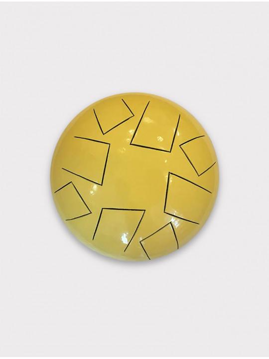 Глюкофон Стеклов 22 см Pentatonic F желтый