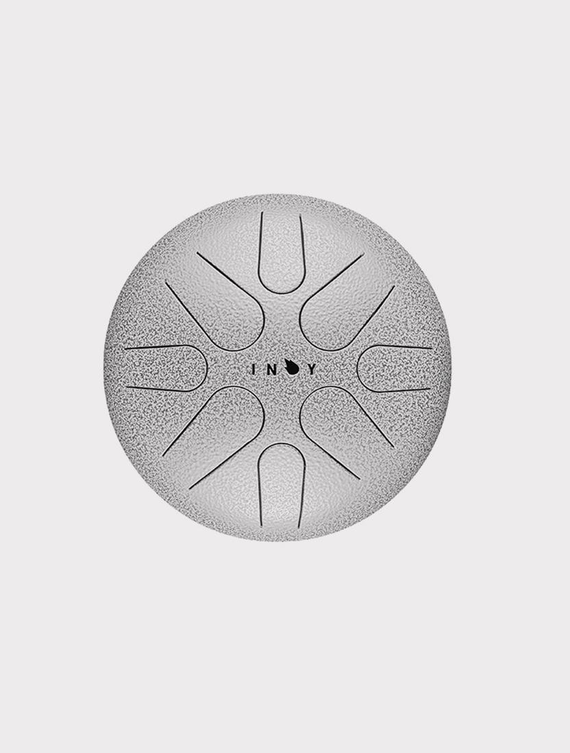 Глюкофон INOY IN22CL19 серебристый, 22 см, До-мажор