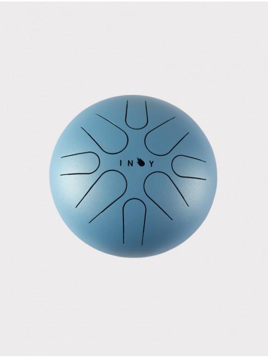 Глюкофон INOY IN22CR19-BUM голубой матовый, 22 см, До-мажор
