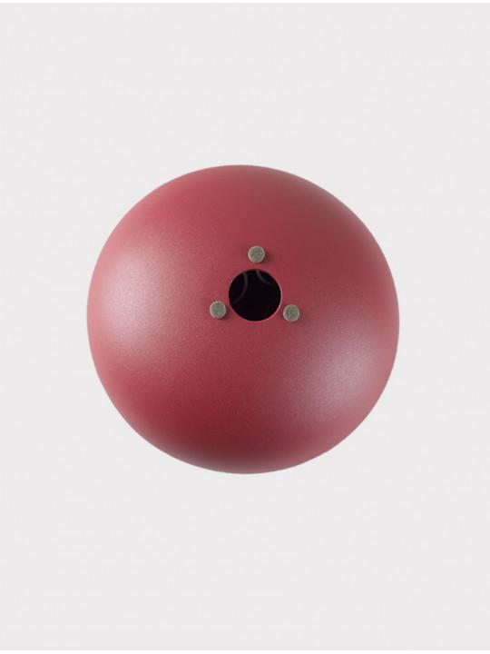 Глюкофон INOY IN22CR19-RDM красный матовый, 22 см, До-мажор
