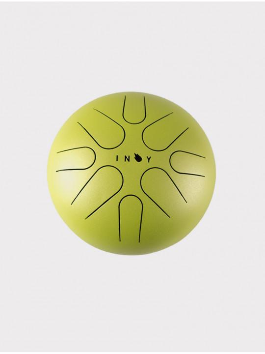 Глюкофон INOY IN22CR19-YOM желтый матовый, 22 см, До-мажор