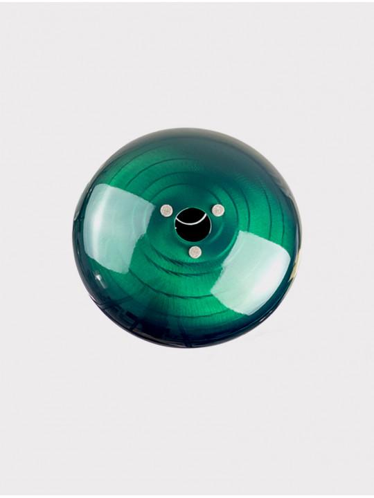 Глюкофон INOY IN22CR19-GR зеленый, 22 см, До-мажор