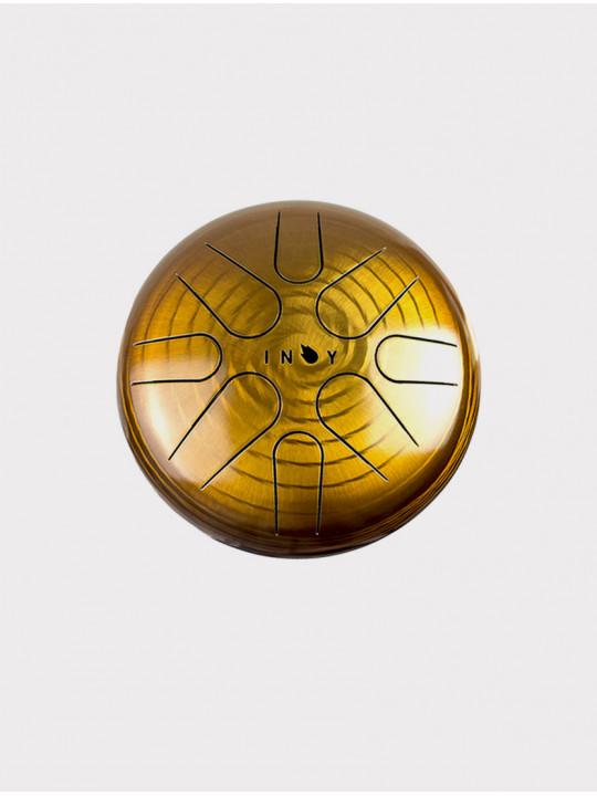 Глюкофон INOY IN22CR19-OR оранжевый, 22 см, До-мажор