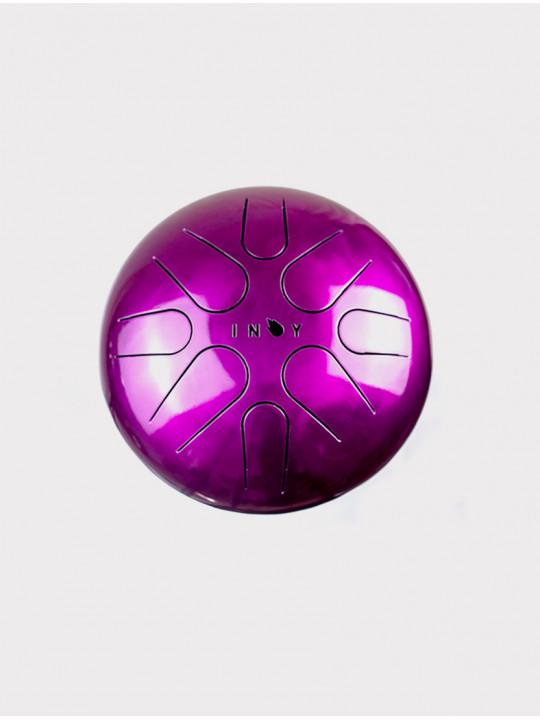 Глюкофон INOY IN22CR19-PN розовый, 22 см, До-мажор