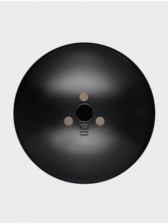 Глюкофон INOY IN29BL19 черный, 29 см, До-мажор