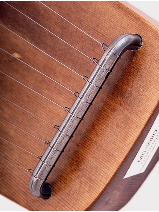 Гусли 9 струн Мир гуслей MG-S9RO прямые коричневые