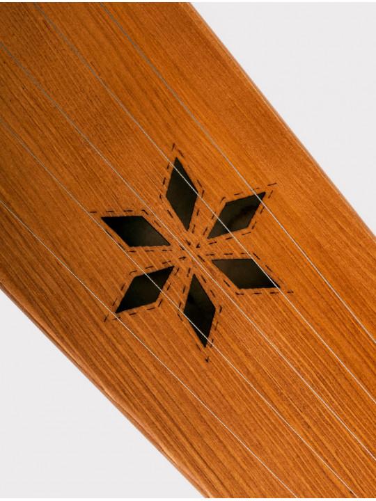Гусли 5 струн крыловидные Мозеръ GWS-51M  детские, цвет светло-коричневый