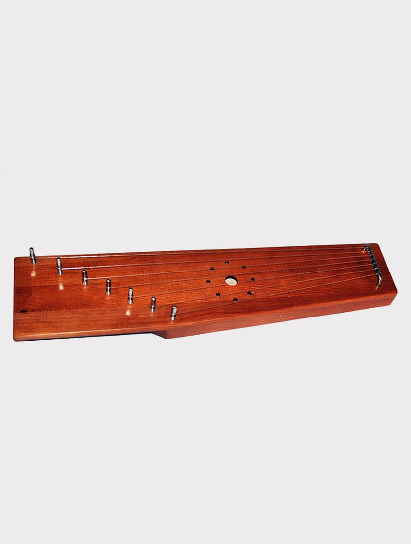 Гусли 7 струн крыловидные Мозеръ GWS-71M традиционные, коричневые
