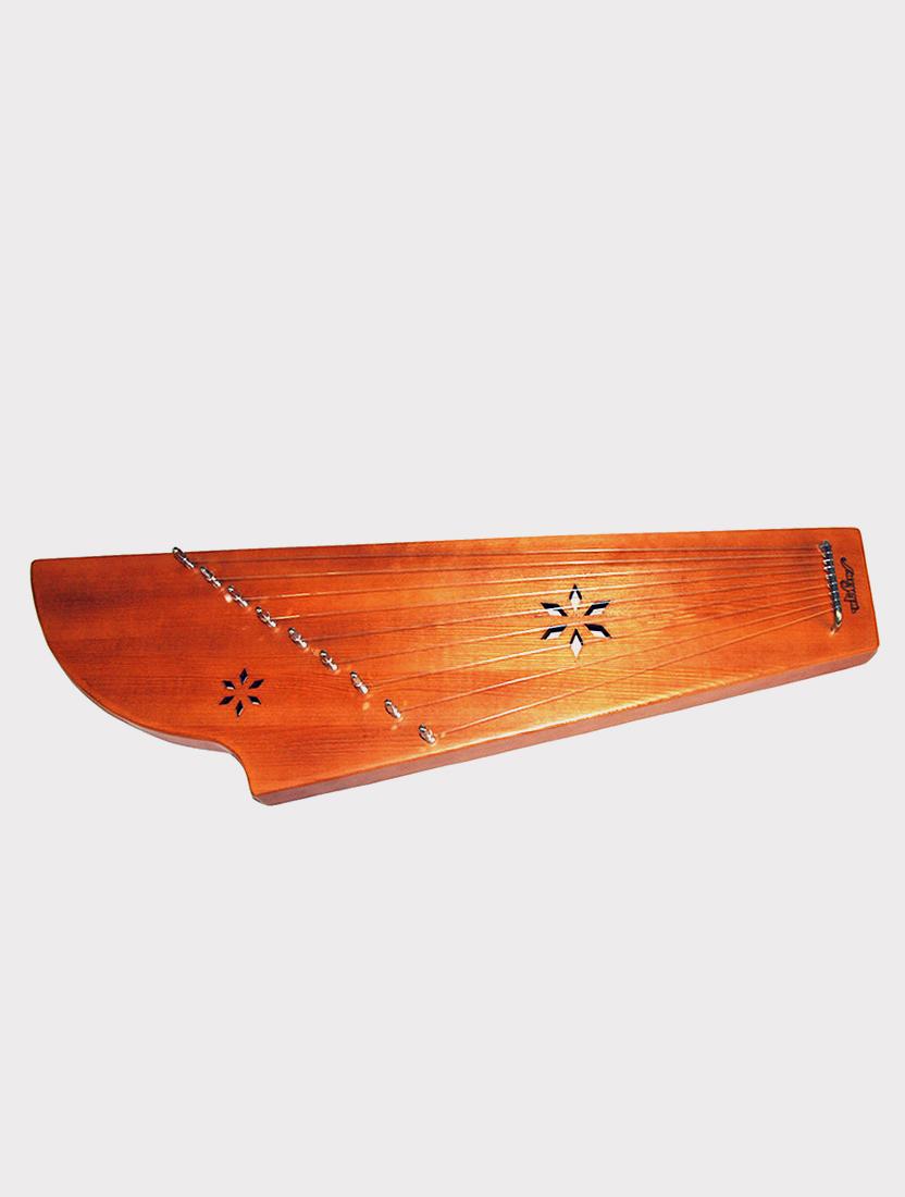 Гусли 9 струн Мозеръ GWS-92M Константиновские двухкамерные, коричневые