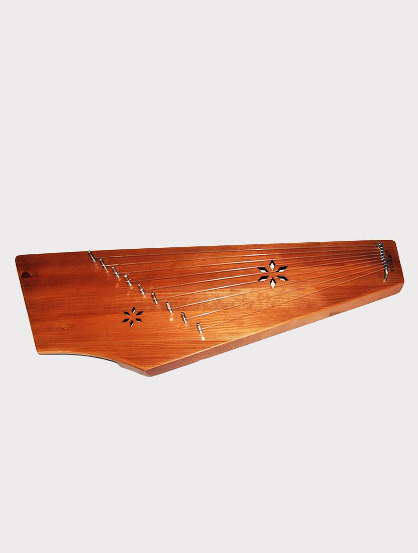 Гусли 9 струн двухкамерные Мозеръ GWS-93M Сергиевские, коричневые