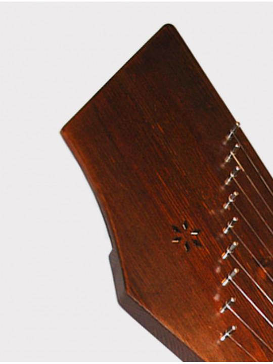 Гусли 9 струн двухкамерные Мозеръ GWS-93W Сергиевские, темно-коричневые
