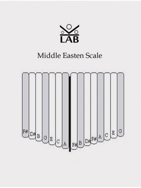 Калимба резонаторная альта 15 язычков бук, Kalimba LAB KL-B-A15CMMG-C