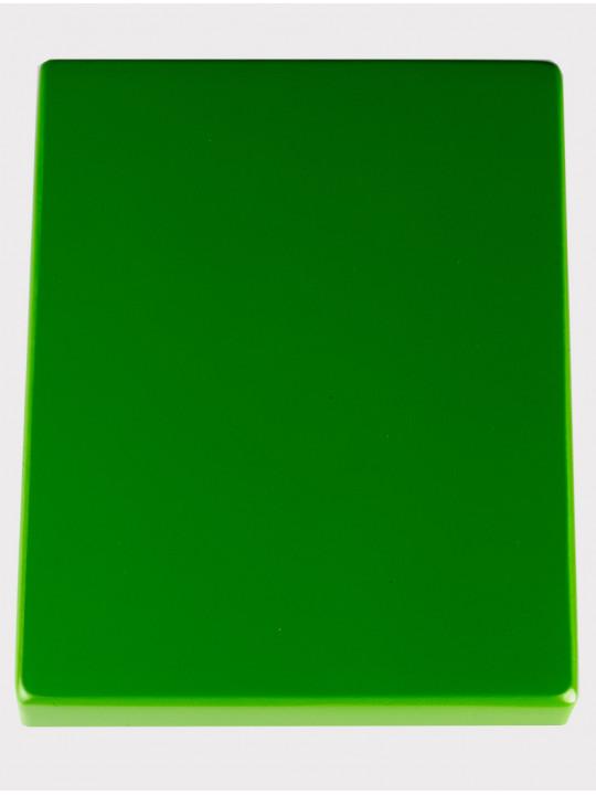 Калимба 10 нот резонаторная Мозеръ KMKr-1-GR Piastra, форма прямоугольная, зеленая