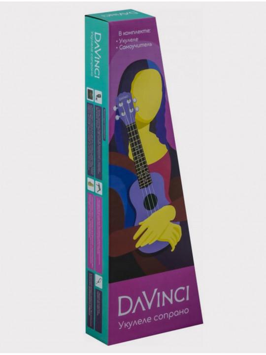 Укулеле DAVINCI VINS-10-SLD сопрано зеленая