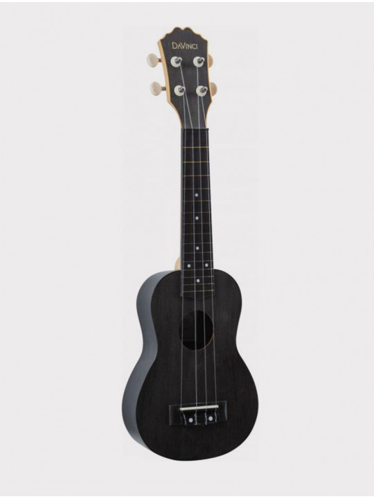 Укулеле DAVINCI VINS-10 BK, сопрано черная