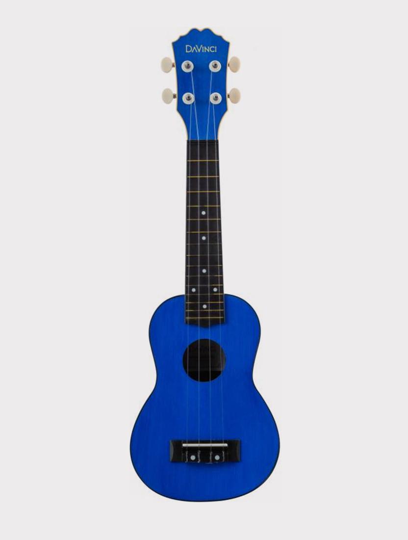 Укулеле DAVINCI VINS-10 BL, сопрано синяя