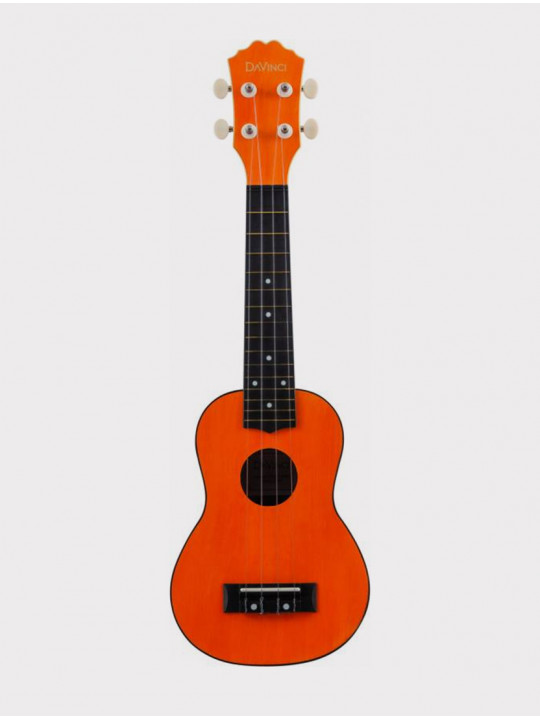 Укулеле DAVINCI VINS-10 OR, сопрано оранжевая