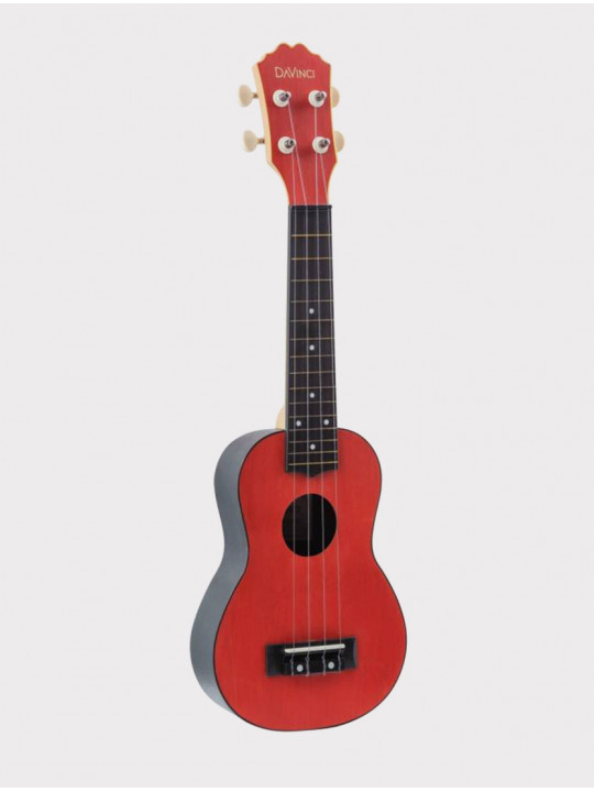 Укулеле DAVINCI VINS-10 RD, сопрано красная