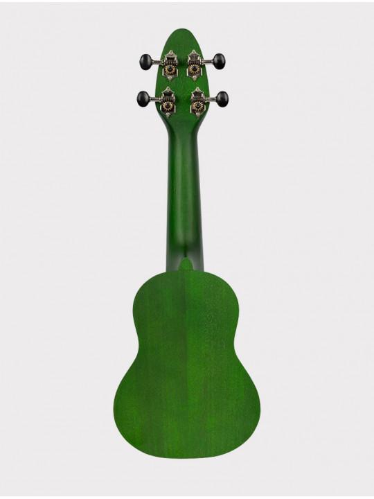 Укулеле Ortega Keiki K1-GR сопранино зеленая с черепахой