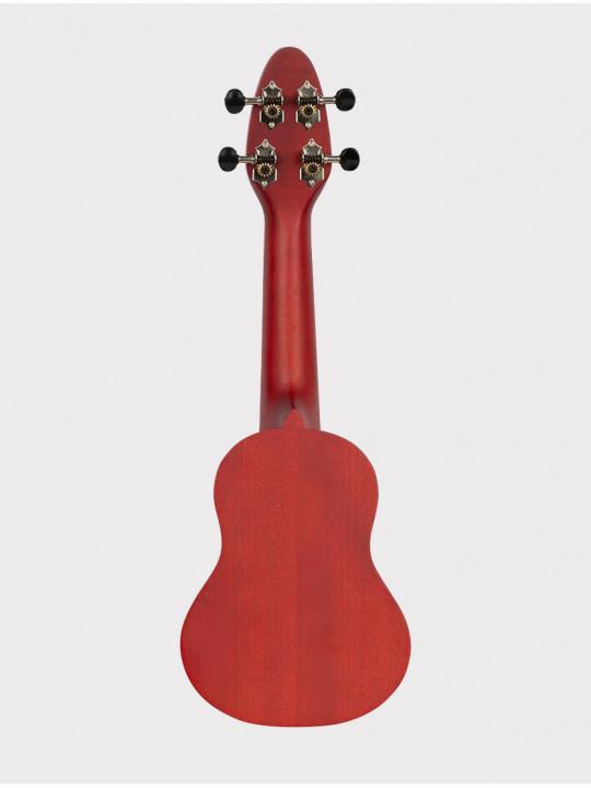 Укулеле Ortega Keiki K1-RD сопранино красная с черепахой