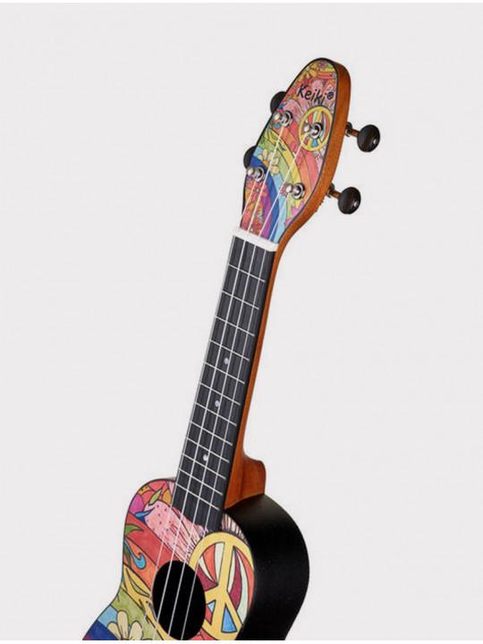 Укулеле Ortega Keiki K2-68 сопрано с чехлом и тюнером
