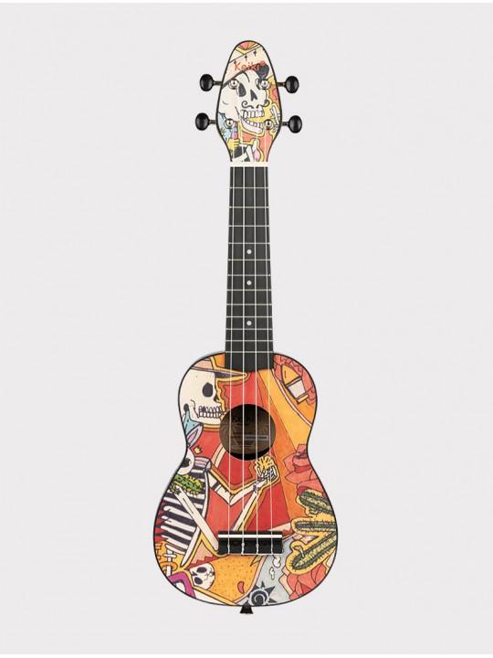 Укулеле Ortega Keiki K2-EM сопрано с чехлом и тюнером