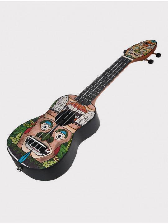 Укулеле Ortega Keiki K2-TM сопрано с чехлом и тюнером