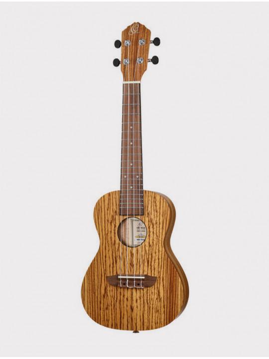 Укулеле Ortega RFU11Z концертная зебрано с чехлом Timber series
