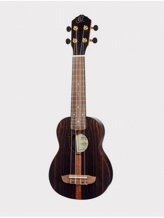 Укулеле Ortega RUEB-SO Ebony Series сопрано с чехлом