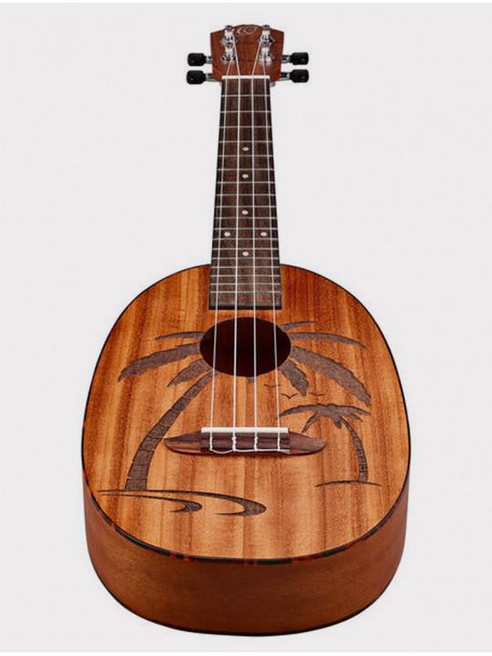 Укулеле Ortega RUPA5MM ананас концертная, Pineapple Series