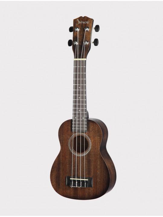 Укулеле Shinobi H-21/BR сопрано, темно-коричневая матовая
