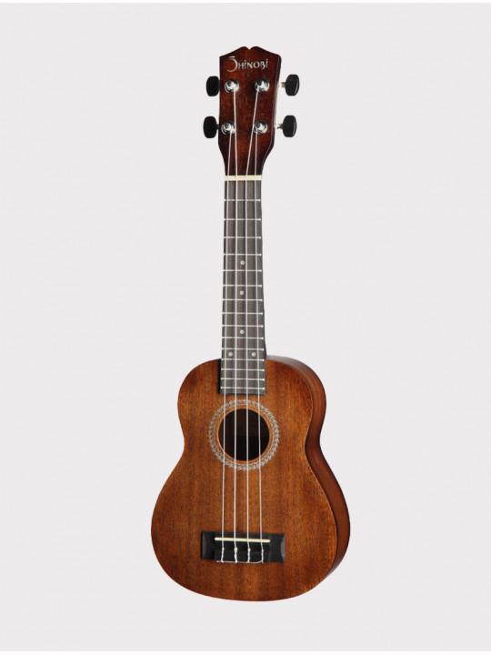 Укулеле Shinobi H-21/N сопрано, коричневая матовая