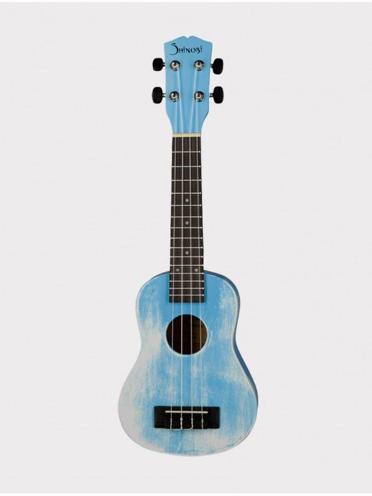 Укулеле Shinobi M-21/BL сопрано, светло-голубая матовая