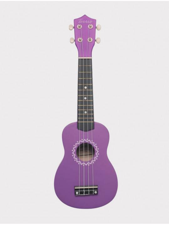 Укулеле TERRIS JUS-10 VIO сопрано, фиолетовая