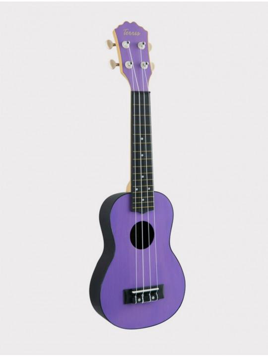 Укулеле TERRIS PLUS 50 VIO, сопрано фиолетовая