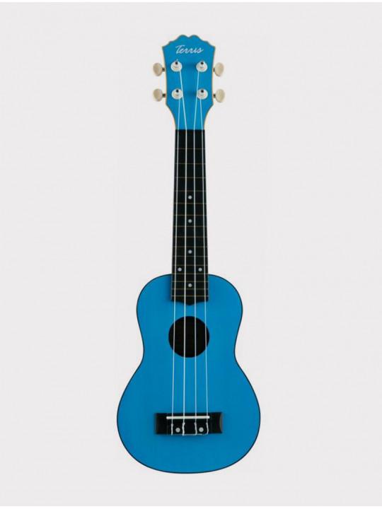 Укулеле TERRIS PLUS 50 BL, сопрано голубая