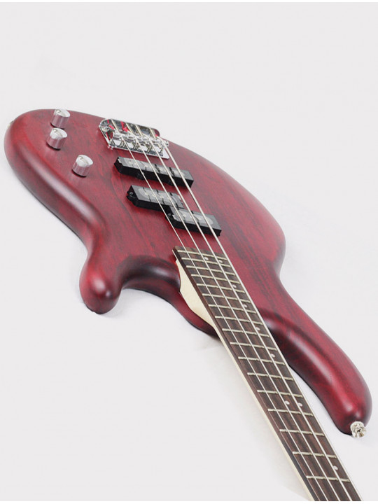 Бас-гитара Cort Action-PJ-OPBC Action Series, красная