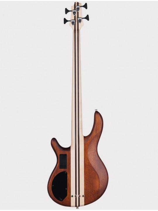Бас-гитара Cort A4-Plus-FMMH-OPN, 4-струнная, натуральное дерево
