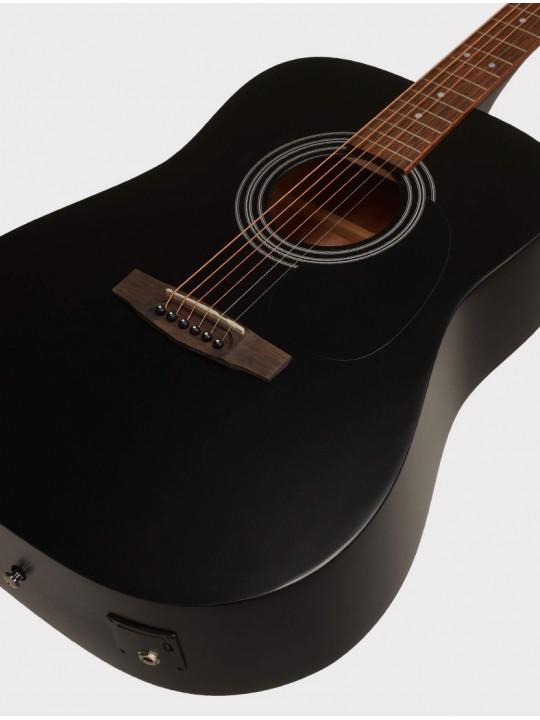 Электроакустическая гитара Cort AD810E-BKS Standard Series, черная