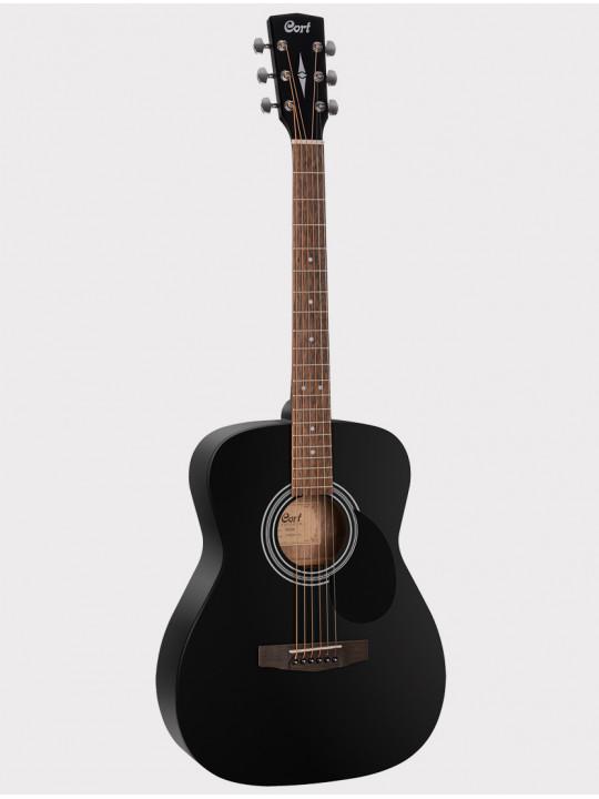 Акустическая гитара Cort AF510-BKS Standard Series, черная