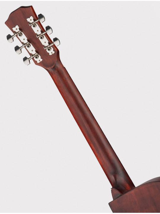 """Акустическая гитара Fante FT-221-3TS, 41"""" с вырезом, желто-коричневый санберст"""