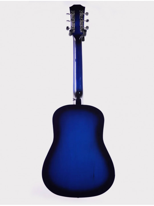 Акустическая гитара Fante FT-R38B-BLS, синий санберст