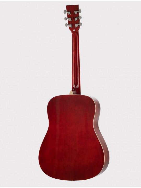 Акустическая гитара Homage LF-4111-R красно-черная
