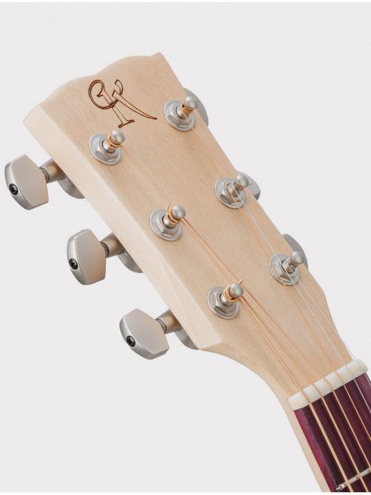 Акустическая гитара Kremona M10-GG Steel String Series Green Globe
