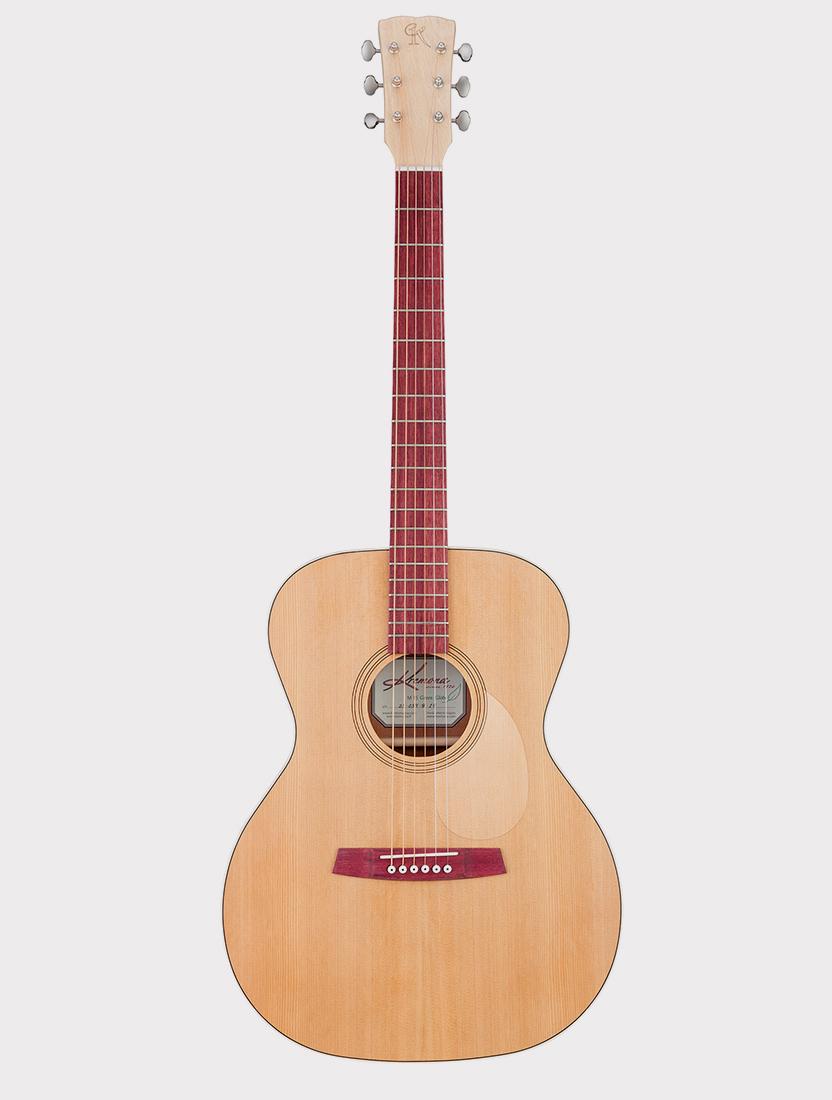 Акустическая гитара Kremona M15-GG Steel String Series Green Globe
